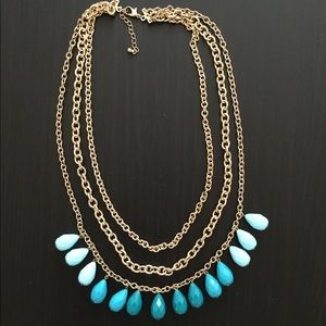Blue and Turquoise Necklace